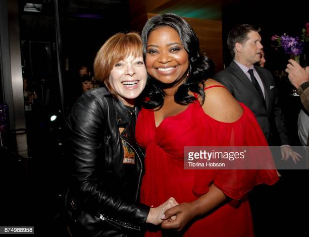 Frances Fisher and Octavia Spencer attend the premiere of Fox Searchlight Pictures 'The Shape Of Water' after party at on November 15 2017 in Los...