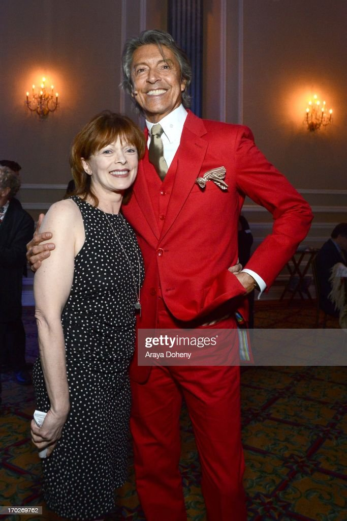 Frances Fisher and Tommy Tune attend the the Actors Fund's 17th annual Tony Awards viewing party held at Taglyan Cultural Complex on June 9, 2013 in Hollywood, California.