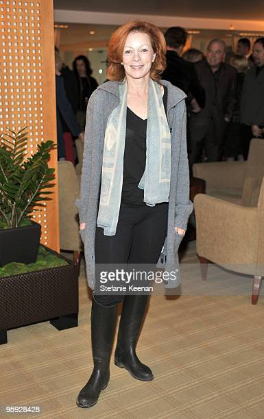 Frances Fisher attends a lunch in honor of Penleope Cruz to celebrate Nine at L'Ermitage on January 21 2010 in Los Angeles California