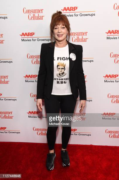 Frances Fisher attends AARP The Magazine's 18th Annual Movies for Grownups Awards at the Beverly Wilshire Four Seasons Hotel on February 04 2019 in...