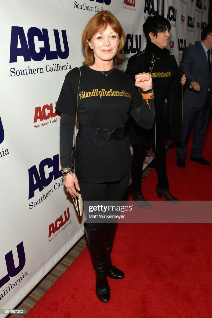 Frances Fisher attends ACLU SoCal Hosts Annual Bill of Rights Dinner at the Beverly Wilshire Four Seasons Hotel on December 3, 2017 in Beverly Hills, California.