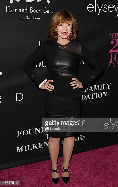 Frances Fisher attends Elyse Walker presents the 10th anniversary Pink Party hosted by Jennifer Garner and Rachel Zoe at HANGAR 8 on October 18 2014...