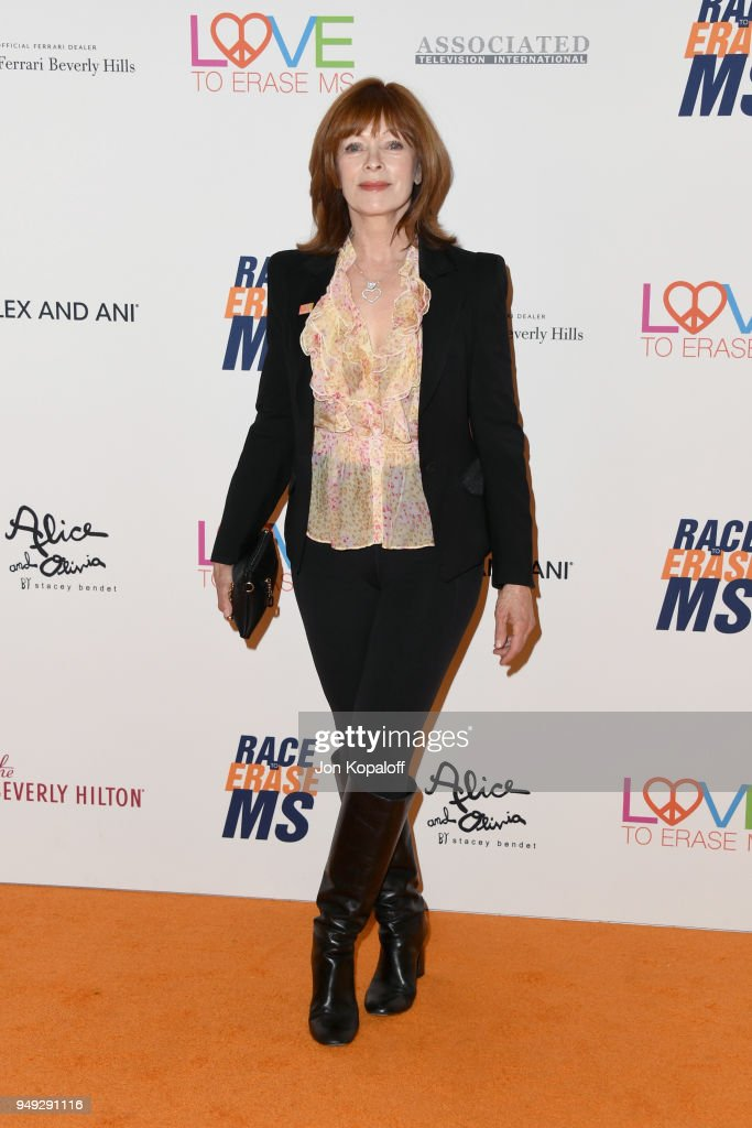 Frances Fisher attends the 25th Annual Race To Erase MS Gala at The Beverly Hilton Hotel on April 20, 2018 in Beverly Hills, California.