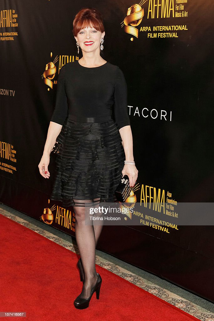 Frances Fisher attends the Arpa International Film Festival closing night gala at Sheraton Hotel on December 2, 2012 in Universal City, California.