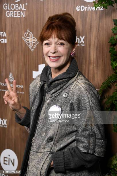 Frances Fisher attends the Global Green 2019 PreOscar Gala at Four Seasons Hotel Los Angeles at Beverly Hills on February 20 2019 in Los Angeles...