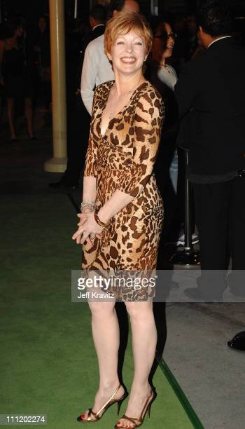 Frances Fisher attends the Red Carpet premiere of In The Valley Of Elah at the Arclight Cinemas on September 13 2007 in Los Angeles California