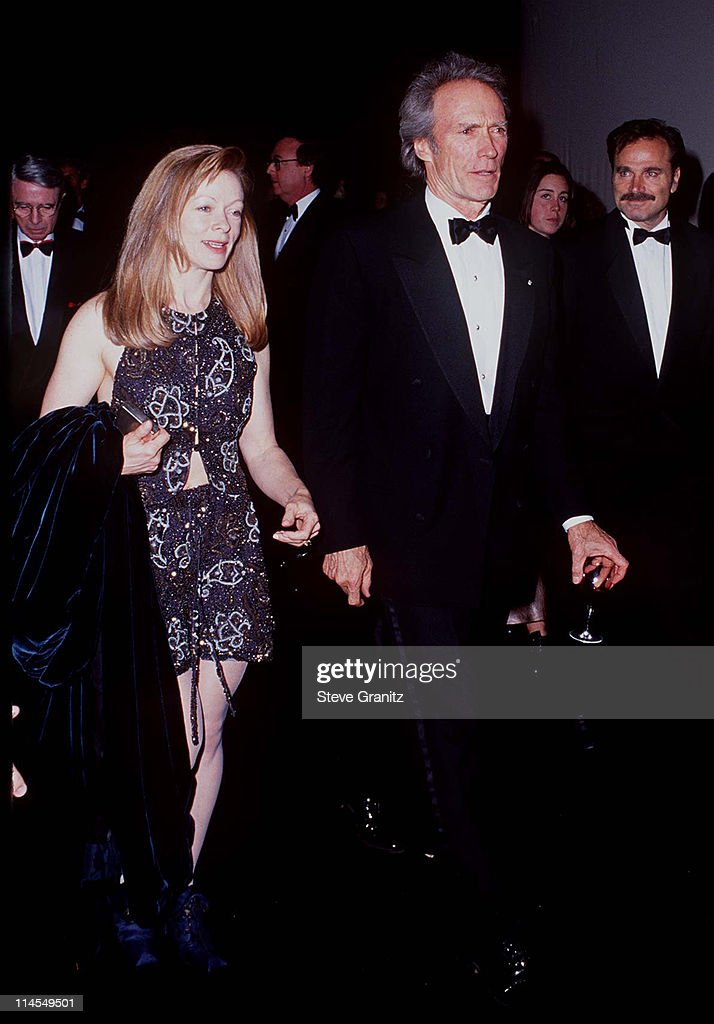 Frances Fisher & Clint Eastwood during 5th Annual Fire and Ice Ball to Benefit Revlon UCLA Women Cancer Center at 20th Century Fox Studios in Century City, California, United States.