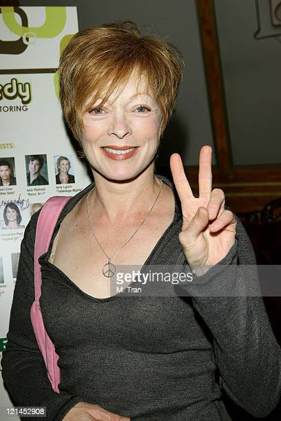 Frances Fisher during First Annual Friends for Life A Night of Comedy to Benefit LifeWorks Mentoring at Laugh Factory in West Hollywood California...