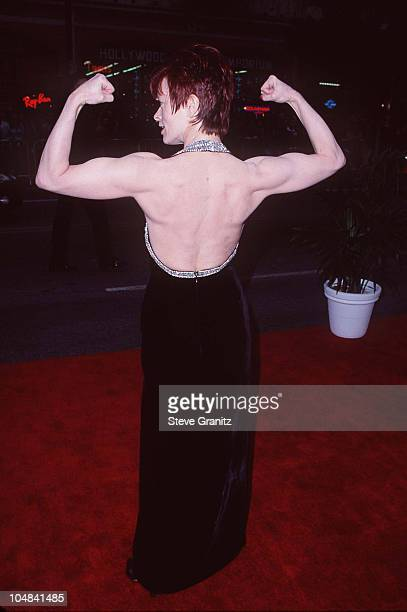 Frances Fisher during 'Titanic' Los Angeles Premiere 1997 at Mann Chinese Theatre in Hollywood California United States