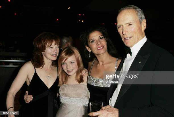 Frances Fisher Francesca FisherEastwood Dina Eastwood and Clint Eastwood
