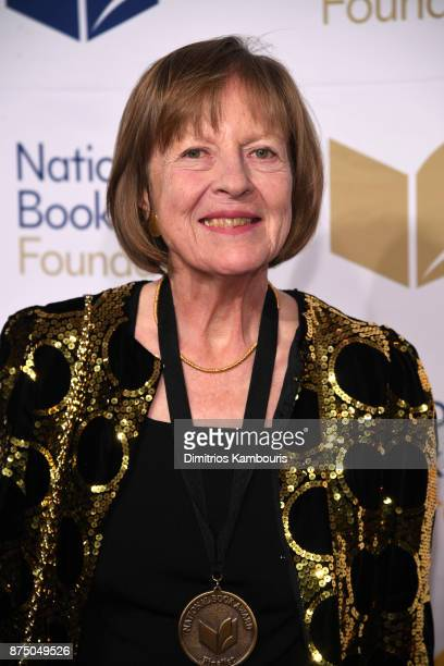 Frances Fitzgerald attends the 68th National Book Awards at Cipriani Wall Street on November 15 2017 in New York City