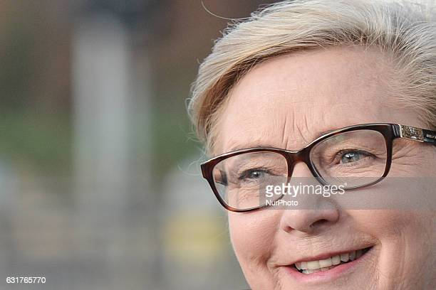 Frances Fitzgerald Tánaiste and Minister for Justice and Equality attends a Funeral Mass of renowned public servant TK Whitaker at Church of the...