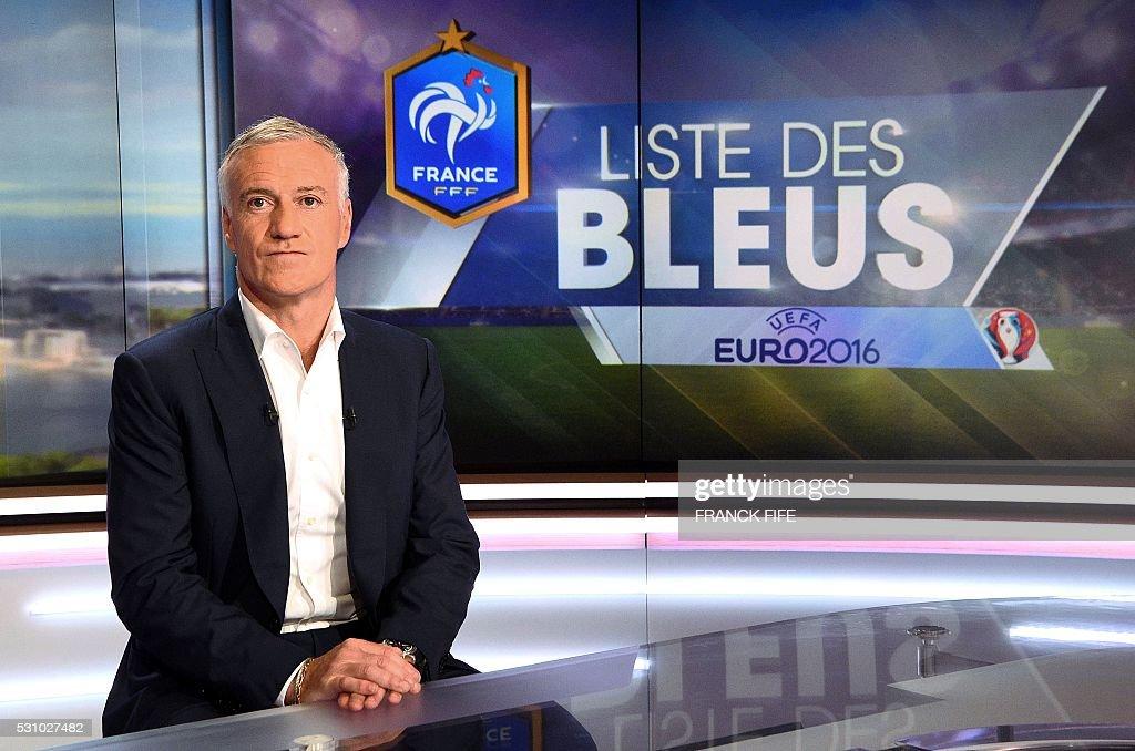 FBL-EURO2016-FRA-SQUAD-EURO-2016 : News Photo