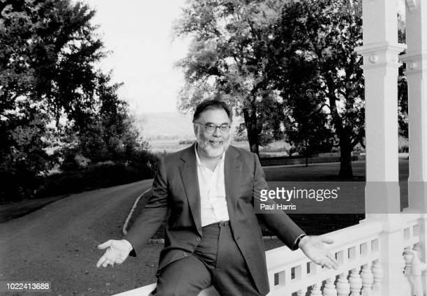 Frances Ford Coppola at his home on his winery in February 5 Geyserville Napa Valley California