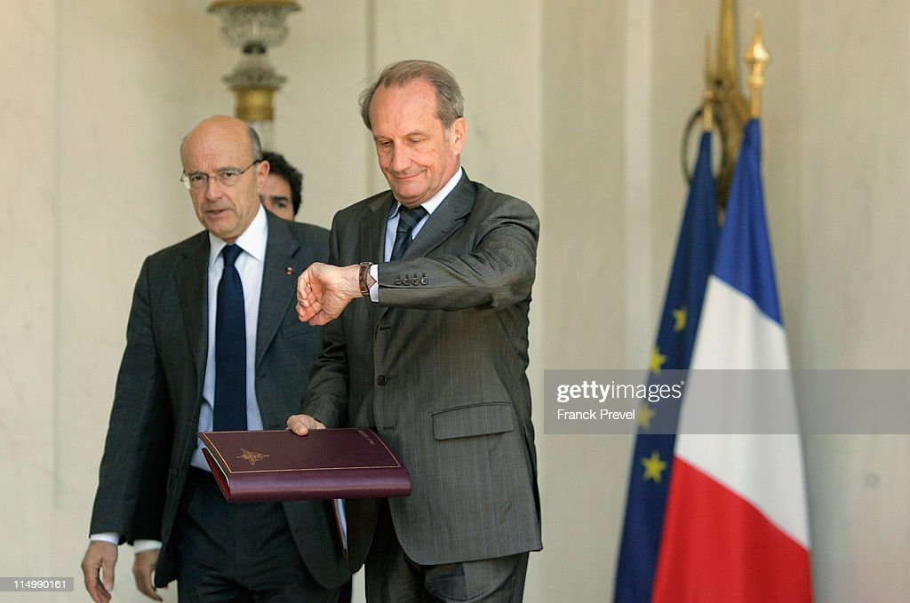 Weekly French Cabinet Meeting At Elysee Palace - June 1, 2010