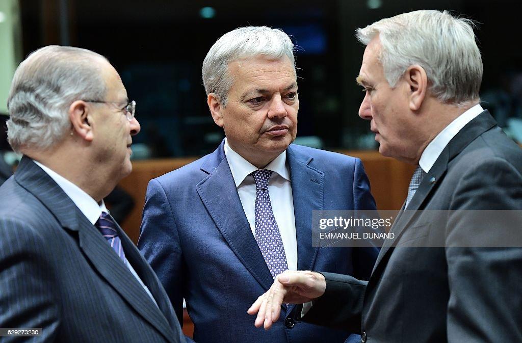 BELGIUM-EU-DIPLOMACY : Nachrichtenfoto