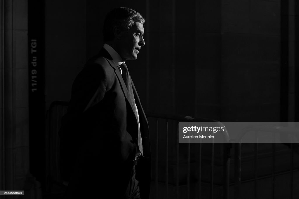 France's Former Budget Minister Jerome Cahuzac At The Paris CourtHouse