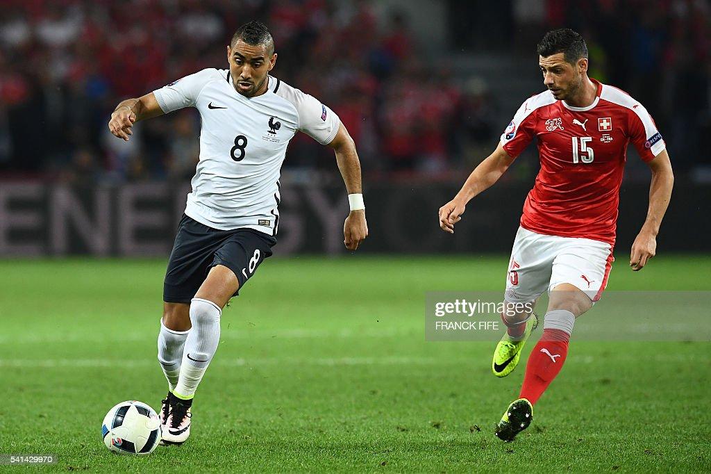 FBL-EURO-2016-MATCH26-SUI-FRA : News Photo