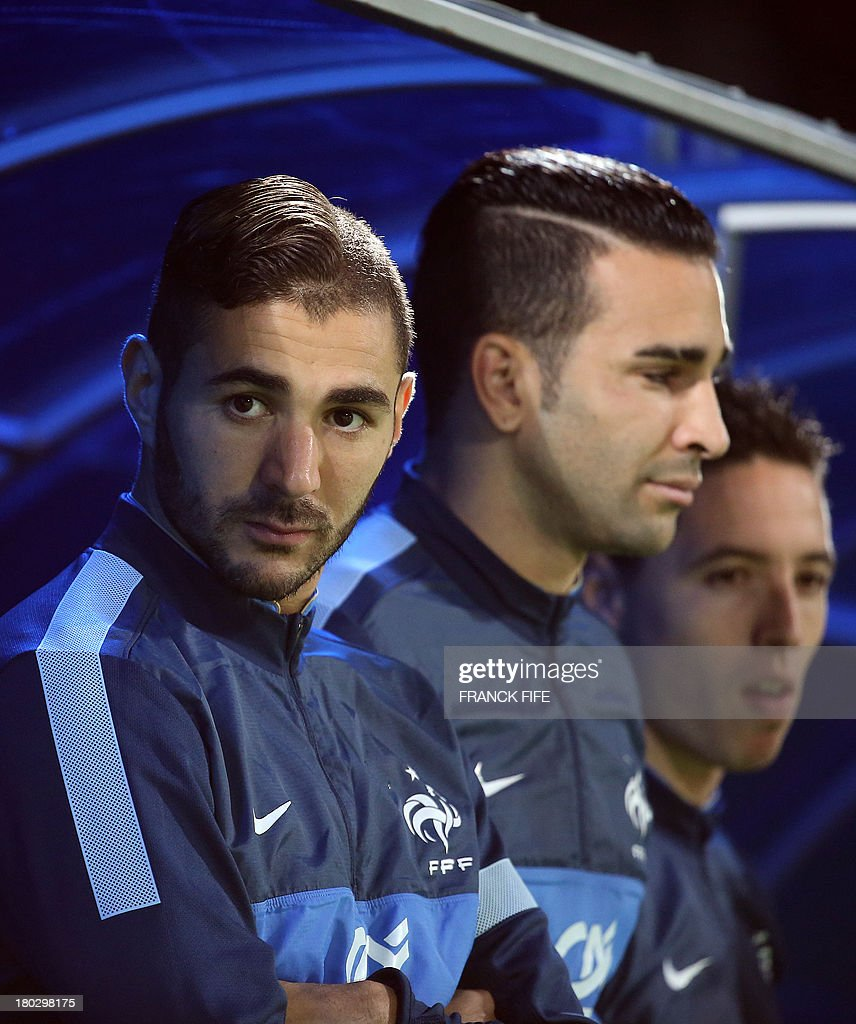 Best Benzema World Cup 2018 - frances-forward-karim-benzema-and-frances-defender-adil-rami-look-on-picture-id180298175  Gallery_612197 .com/photos/frances-forward-karim-benzema-and-frances-defender-adil-rami-look-on-picture-id180298175