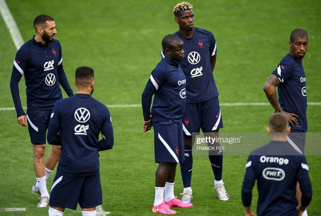 FBL-EURO-2020-2021-FRA-TRAINING : News Photo