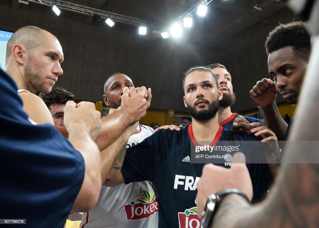 BASKETBALL-FRA-CRO : News Photo