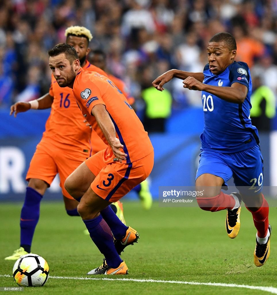 Image result for mbappe de vrij