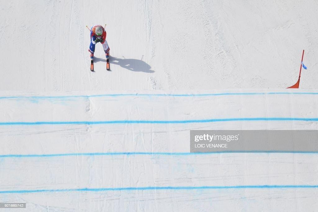 FREESTYLE SKIING-OLY-2018-PYEONGCHANG : News Photo