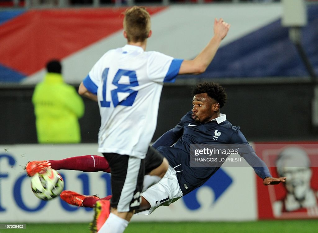 FBL-U21-FRA-EST-FRIENDLY : News Photo