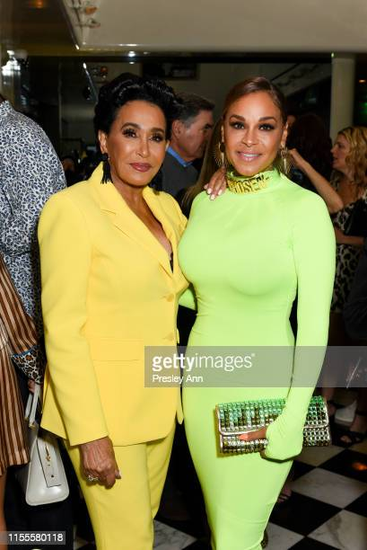 Frances Glandney and Sheree Zampino attend Ira and Bill DeWitt's Saint candle launch benefiting St. Jude Children's Research Hospital at MR CHOW on...
