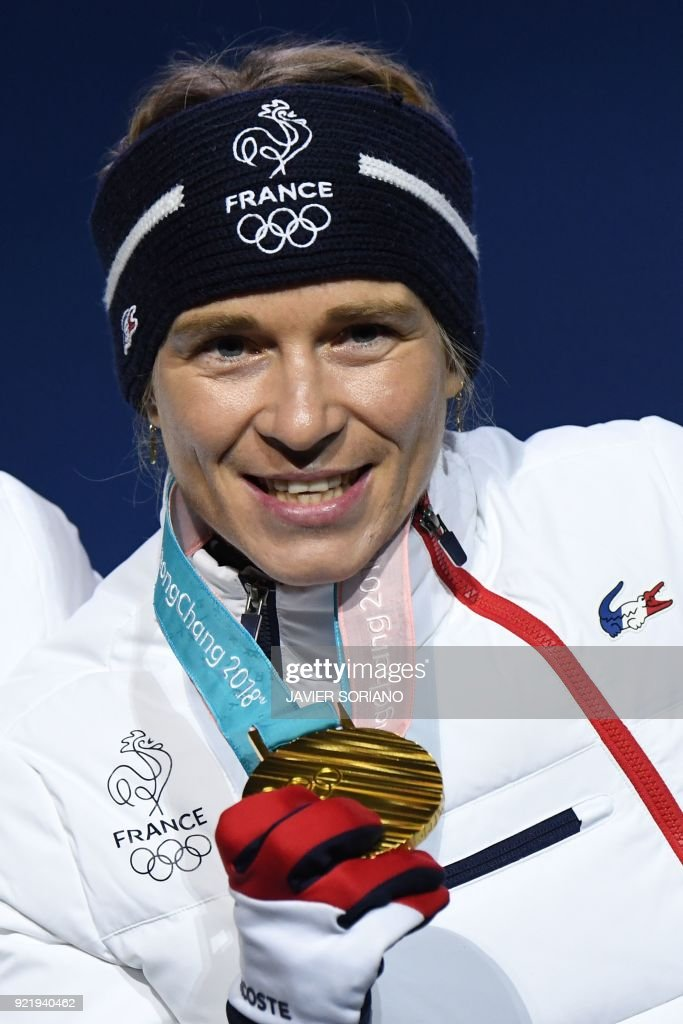 BIATHLON-OLY-2018-PYEONGCHANG-MEDALS : News Photo