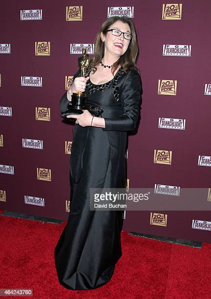 Frances Hannon attends the 21st Century Fox and Fox Searchlight Oscar Party at BOA Steakhouse on February 22 2015 in West Hollywood California