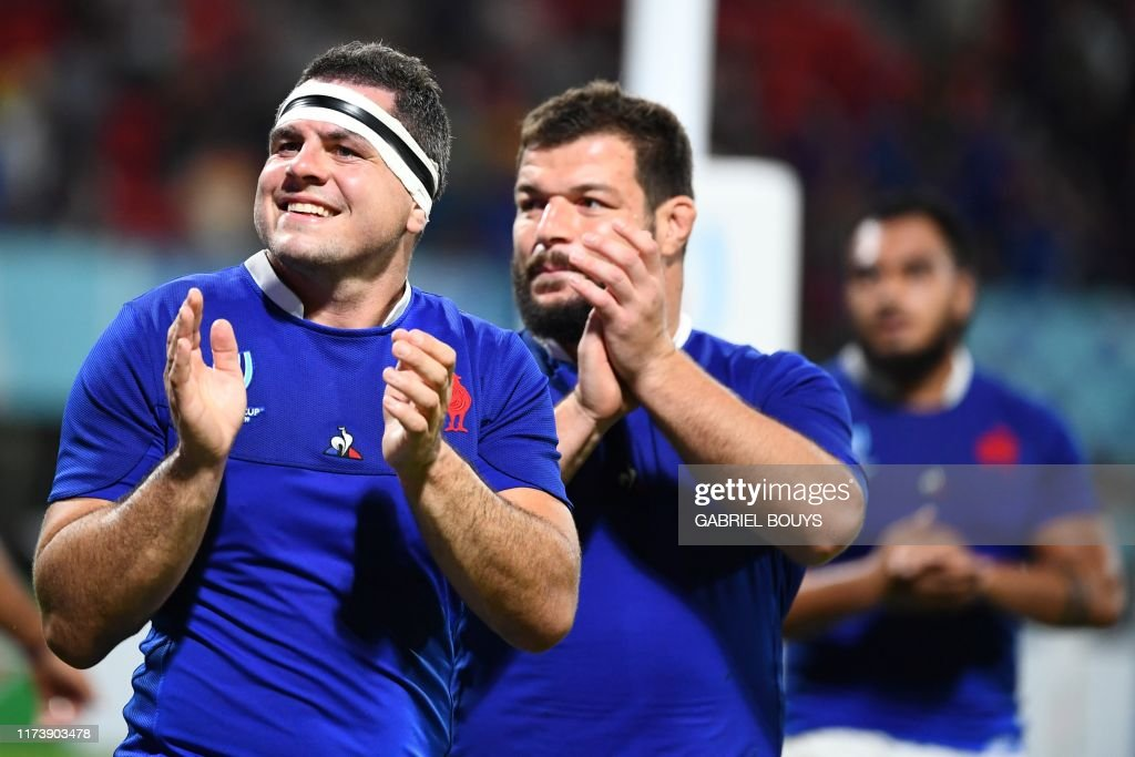RUGBYU-WC-2019-MATCH28-FRA-TGA : News Photo