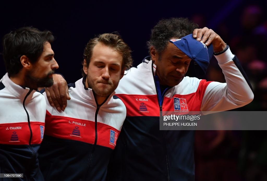 TENNIS-DAVIS-FRA-CRO-FINAL : News Photo