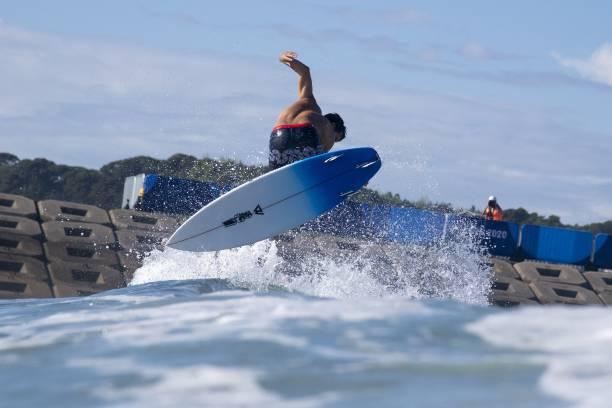 JPN: Surfing - Olympics: Day 2