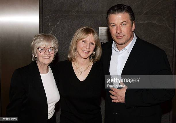 Frances Kazan Vanity Fair contibuting editor Patricia Bosworth and actor Alec Baldwin attend a special screening of A Streetcar Named Desire at the...