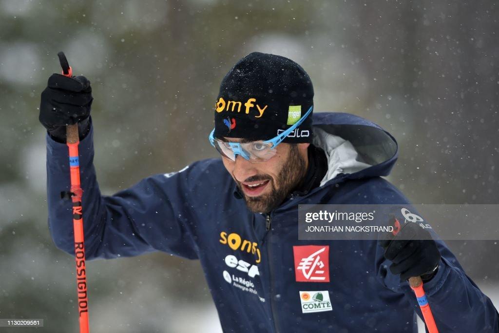 SWE: IBU Biathlon World Championships - Men's 20km