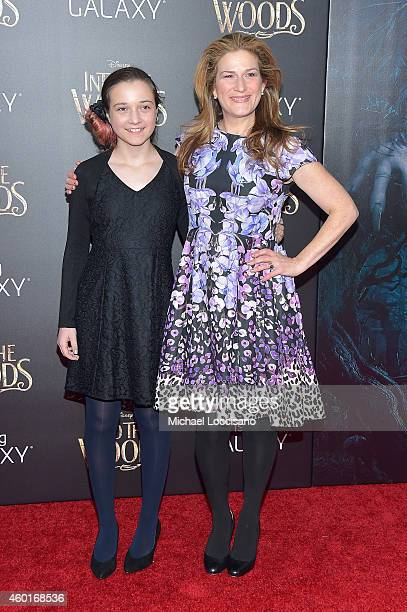 Frances Mary McKittrick and Ana Gasteyer attend the Into The Woods World Premiere at Ziegfeld Theater on December 8 2014 in New York City