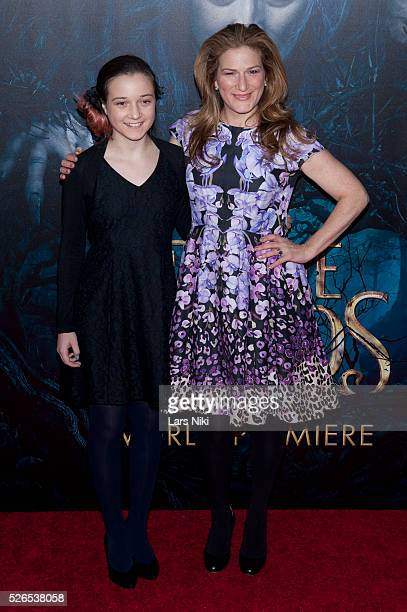 Frances Mary Mckittrick and Ana Gasteyer attend the Into the Woods premiere at the Ziegfeld Theater in New York City �� LAN