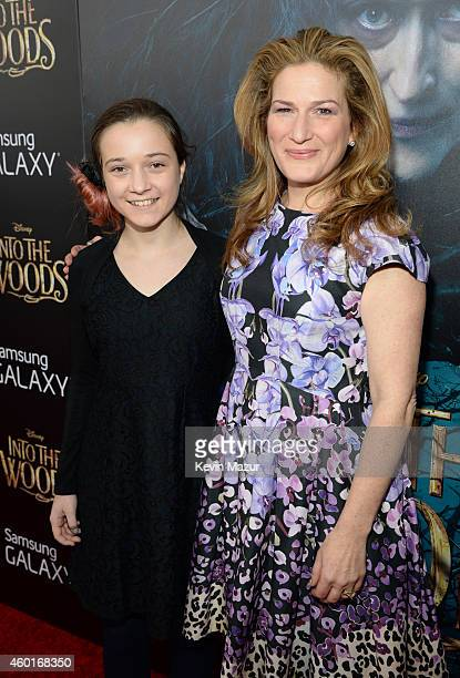 "Frances Mary Mckittrick and Ana Gasteyer attend the world premiere of ""Into the Woods"" at the Ziegfeld Theatre on December 8, 2014 in New York City...."