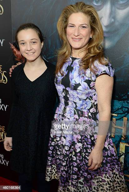 Frances Mary Mckittrick and Ana Gasteyer attend the world premiere of Into the Woods at the Ziegfeld Theatre on December 8 2014 in New York City The...
