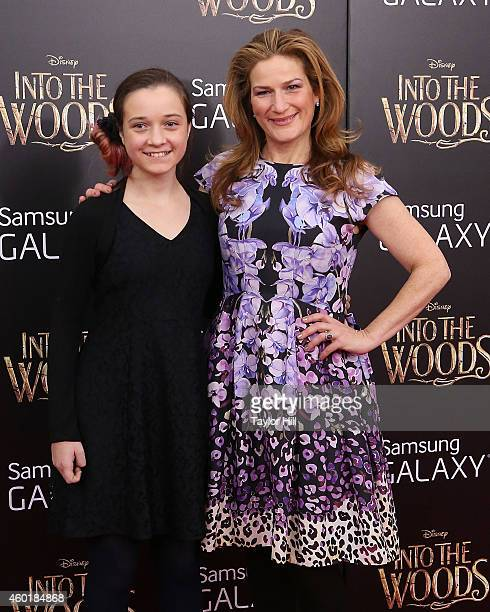 Frances Mary McKittrick and Ana Gasteyer attend the world premiere of Into the Woods at Ziegfeld Theater on December 8 2014 in New York City
