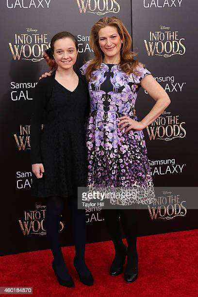 "Frances Mary McKittrick and Ana Gasteyer attend the world premiere of ""Into the Woods"" at Ziegfeld Theater on December 8, 2014 in New York City."