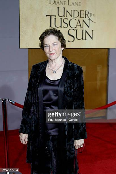 Frances Mayes arrives at the world premiere of Under the Tuscan Sun at the El Capitan Theater