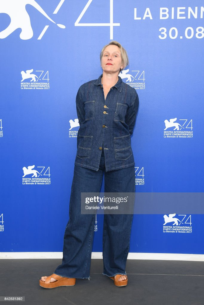 Three Billboards Outside Ebbing, Missouri Photocall - 74th Venice Film Festival