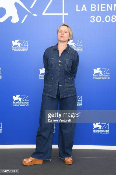 Frances McDormand attends the 'Three Billboards Outside Ebbing Missouri ' photocall during the 74th Venice Film Festival at Sala Casino on September...