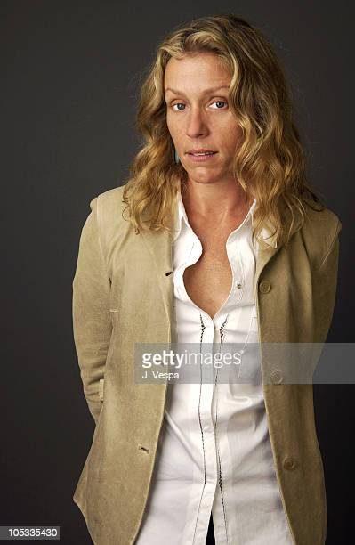 Frances McDormand during 2002 Toronto Film Festival Laurel Canyon Portraits at Hotel InterContinental in Toronto Ontario Canada