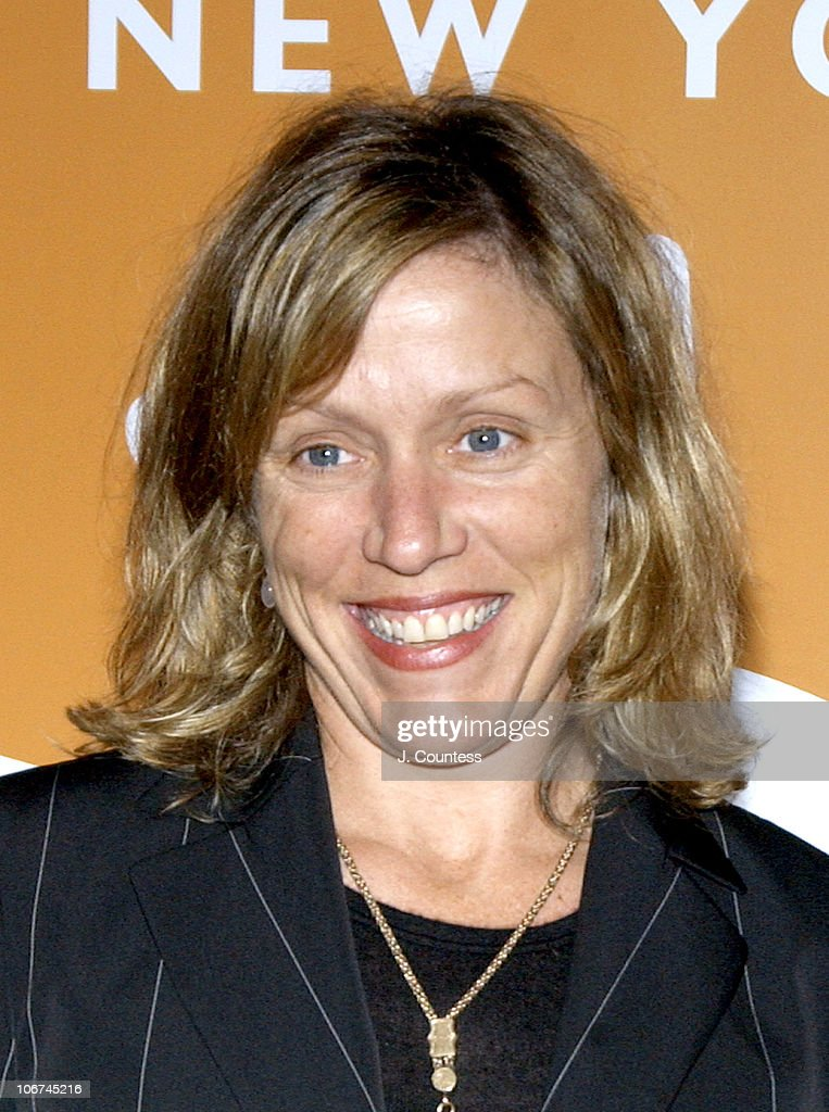 Frances McDormand during Food Bank of New York City Gala Awards Dinner Hosted By Frances McDormand - Arrivals at Pier Sixty at Chelsea Piers in New York City, New York, United States.