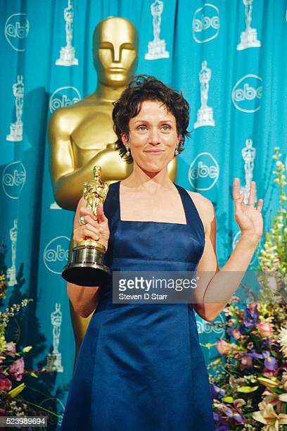 Frances McDormand won the Best Actress Oscar at 69th annual Academy Awards for her role in Fargo
