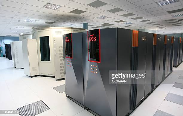 France'S Meteorological Office Gets A Bigger And Faster Supercomputer In Toulouse France On June 02 2007 Meteo France is putting a five times faster...