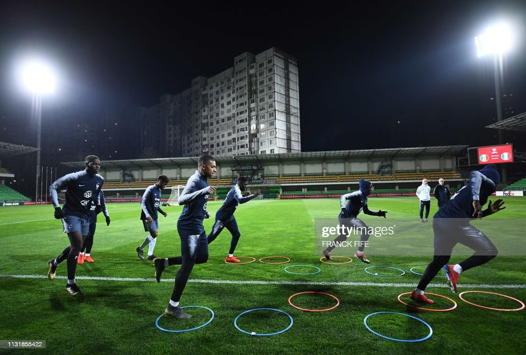 MDA: Moldova v France - UEFA EURO 2020 Qualifier